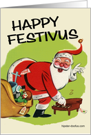 Festivus Wishes card