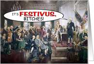 Have A Revolutionary Festivus card