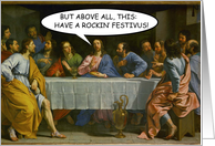 Last Festivus Supper Card