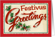 Festivus Greetings Card