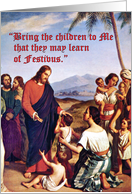 Teach the Children of Festivus Card
