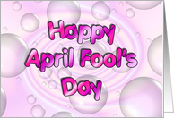 Happy April Fool's Day card