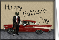 Cool Cat Daddy card