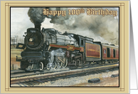 Birthday Locamotive - 100th card