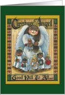 Christmas, Christmas Angel card