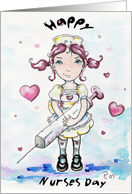 Little nurse card