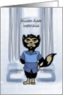 Happy Lupercalia Day Wolf Card
