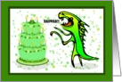 Dino Roar Birthday card