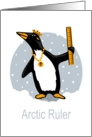 Penguin Ruler card