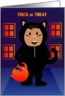 Black Cat Kid card
