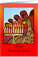 Happy Thanksgivukkah Card