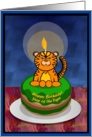 Happy Birthday! Year of the Tiger card