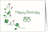 Happy Birthday 85 card