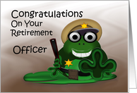 Congratulations (Officer Retirement) card