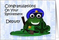 Congratulations (Deputy Retirement) card