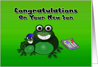Congratulations New Son card