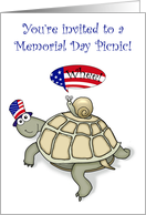 Memorial Day Picnic! card
