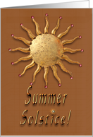 Happy Summer Solstice 2! card