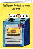 Lov'in In The Oven card