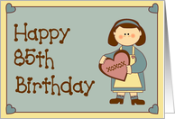 Happy 85th Birthday Country Girl card