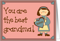 Best Grandma card