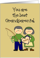 You're the Best Grandparents Card