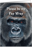 Please be my Fay Wray card