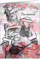 Fashion Show Invitation card