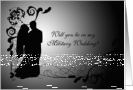 Will You Be In My Military Wedding? card