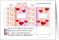 Happy Crafty Birthday card