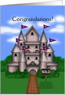 Congratulations! You Sold Your Home, Castle card