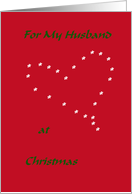 I Give You My Heart (Husband) card