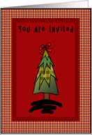 Holiday Invitation card