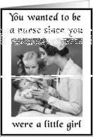 Nursing School Graduation card