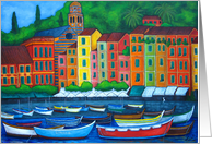 Colours of Portofino card