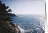 Oregon Coast. Pacific Northwest card