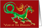 Tet New Year of the Dragon card