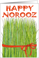 Happy Norooz - Grass card