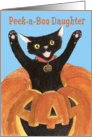 Jack O'Lantern Cat, Daughter card