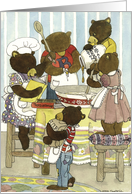 The Baker Bears - birthday card