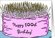 Happy 100th Birthday! card