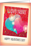 Valentine Card for Nana card