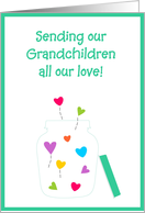 Valentine's - Grandchildren card