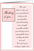 Thinking of You - April Fool's card