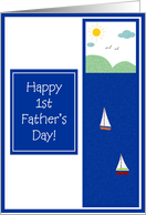 Happy Father's Day - 1st Father's Day card