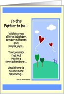 Happy Father's Day - Father to be card
