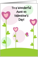 Happy Valentine's Day - Aunt card