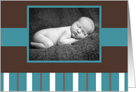 Baby - Announcement Photo Card