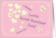 Summer Fun Invitation card