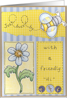 Bee Hi Card